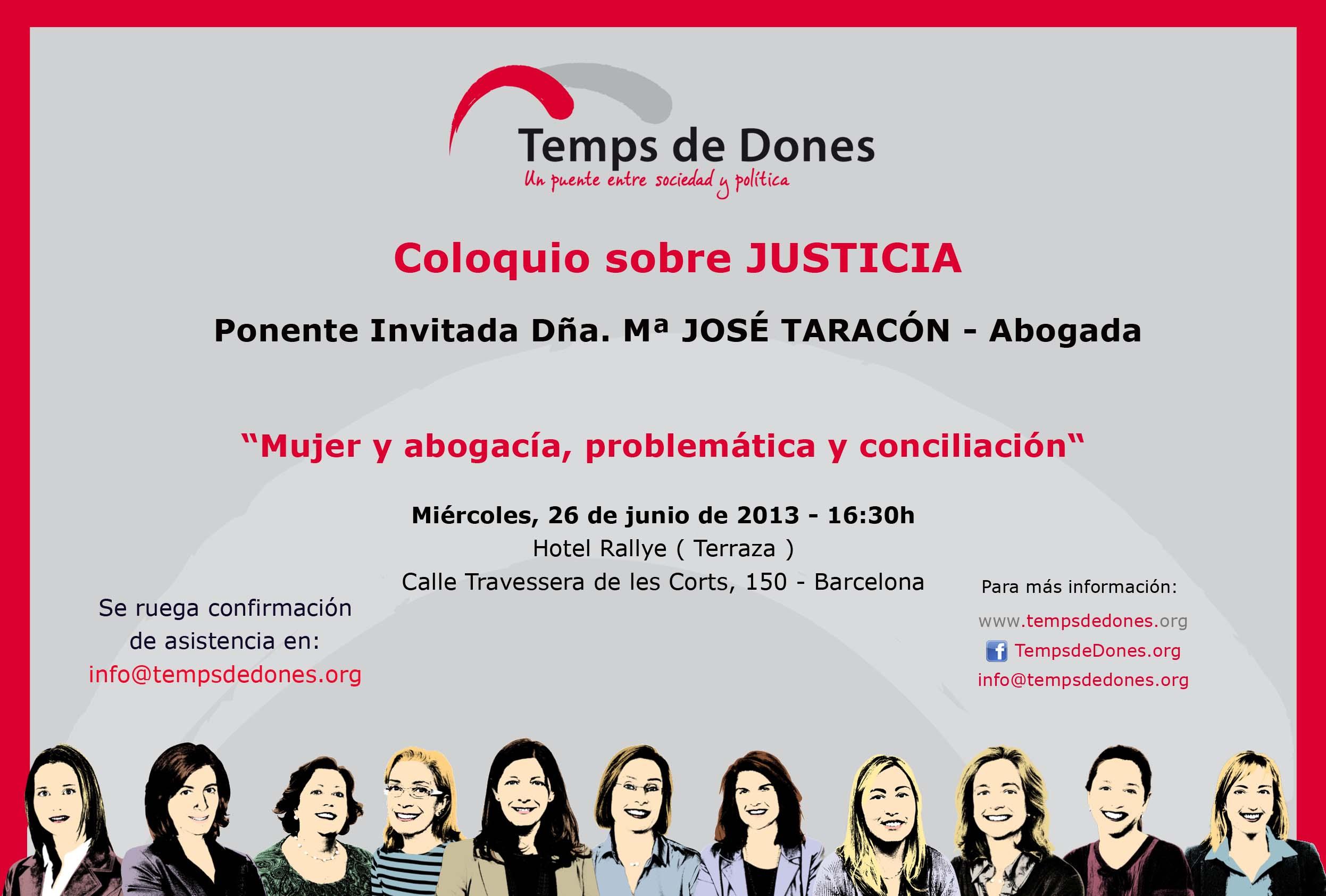 Invitacion_TempsdeDones Coloquio JUSTICIA 26.06