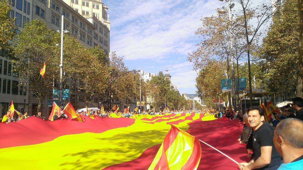 12 de octubre de 2013: Somos Cataluña, Som Espanya