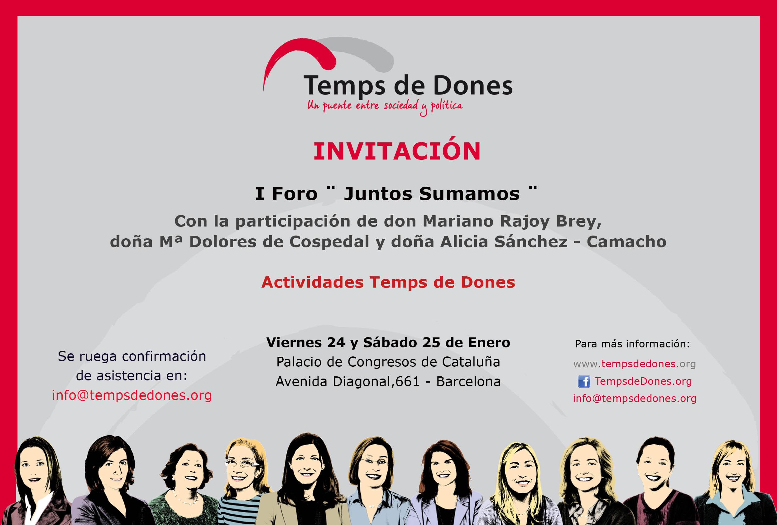 Invitacion_TempsdeDones FORO  24y25 01 14 6ª version